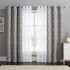 5 Reliable Tips: Yellow Curtains Front Doors double curtains track.Short Burlap Curtains drop cloth curtains with seam.No Sew Curtains For Kitchen. Double Window Curtains, Layered Curtains, Home Curtains, Curtains Living, Living Room Windows, Curtains With Blinds, Blinds For Windows, Living Room Grey, Living Room Decor