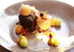 What about some sweet treats? Our talented chef Tracey from The Millhouse Restaurant has created a delightful dessert. Pop in and try our Spiced Ginger Cake with vanilla & pumpkin cremeux, granny smith, star anise ice cream & spiced caramel. Delicious! #delicious #beautifulcuisine #foodphotography