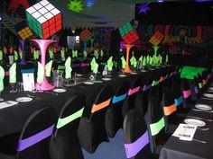 80's party decoration - Buscar con Google