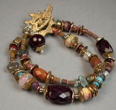 браслеты из натуральных камней и фурнитуры