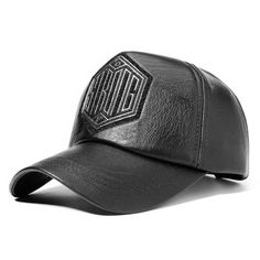 6bdc1a34df1 Mens Retro Embroidery Adjustable Baseball Cap Warm Artificial PU Leather  Dad Hat Outdoor Sports Hat is hot sale on Newchic.