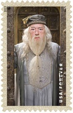 Harry Potter stamp collection available from USPS starting Nov 19 - Dumbledore Stamp