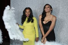 June Ambrose and Vanessa Simmons  - All Of The Must-See Moments From ESSENCE's 10th Annual Black Women In Hollywood Awards 02/2017