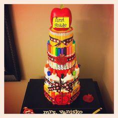Teacher Supply cake for 2012