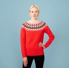 Raindrop Sweater - Red - Donna Wilson