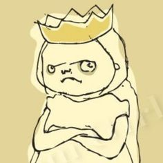 Grumpy Princess from the Doom Girls