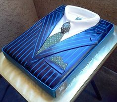 Louis Vuitton suit cake