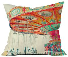 DENY Designs Shannon Clark Swinging Throw Pillow eclectic-pillows