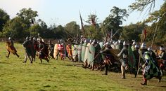 early medieval battle