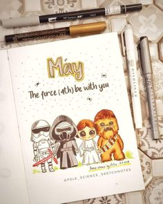 Looking for star wars bullet journal theme ideas? We have collected that will make you excited to add the force to your notebook! Bullet Journal Notebook, Bullet Journal Spread, Bullet Journal Ideas Pages, Bullet Journal Layout, Bullet Journal Inspiration, Movie Bullet, Bullet Journel, Bullet Journal Aesthetic, Filofax