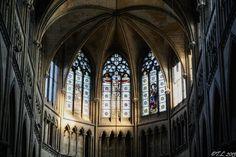 Vitraux du choeur de la Cathédrale de Rouen