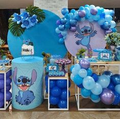 21st Party, 18th Birthday Party, Baby Birthday, Stitch Cake, Bf Gifts, Sleepover Party, Girl Decor, Lilo And Stitch, Baby Boy Shower