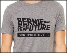 Back to the Future ~ Bernie for the Future [or there may be none]