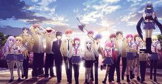 Anime: Angel beats <<< this anime made me sob so much that it hurt so bad Sad Anime, Me Me Me Anime, Anime Love, Manga Anime, Anime Art, Manga Girl, Anime Girls, Clannad, Vocaloid