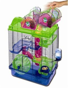 Large Here and There Hamster Cage