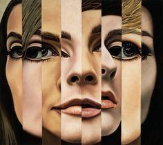 The Neo-Pop Dreams of Richard Phillips - Patrick Canteros Art Van, A Level Art Themes, A Level Art Sketchbook, Neo Pop, Art Alevel, Painting Of Girl, Identity Art, Portrait Art, Drawing Portraits
