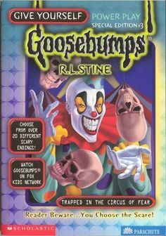 Trapped in the Circus of Fear - Goosebumps Wiki - Wikia
