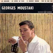 """Georges Moustaki vinyl 7"""" EP 45T # de eerste single van Georges Moustaki"""