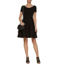 Women: Dresses Sandro Scalloped Mini Dress