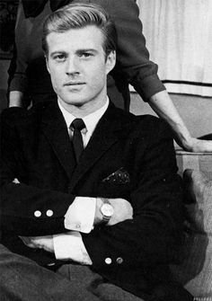 Robert Redford, 1964.  The Great Gatsby Such a handsome man.