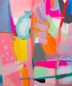 Log in - Log in fruit flavored jenny andrews anderson Contemporary Abstract Art, Modern Art, Colorful Abstract Art, Colourful Art, Abstract Shapes, Painting Abstract, Painting Art, Contemporary Artists, Watercolor Painting