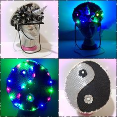 #LUVIT  Yin Yang inspired Unicorn Captain's Hat with Rainbow LED lights for EDC  Check-out our Unicorn Flower Crowns available at KittyKatrina.com in our Specialty Flower Crowns Section  #yinyang #captainshat #unicorn #unicorns #unicorntribe #unicornlover #unicornsquad #unicornheadband #unicorncostume #unicornstyle #unicornhair #ravehat #festivalhat #ledlights #festivaloutfit #festivalwear #ravecostume #raveoutfit #ravestyle #ravefashion #ravewear #edc #edcgear #edcoutfit #edcready