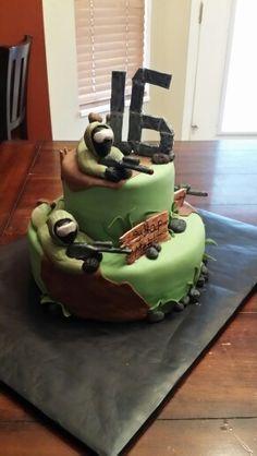 Airsoft battle cake