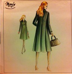 Marfy pattern 1022Empire Waist Coat sz 48  by NasusjazzDesigns, $20.00