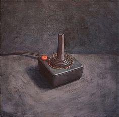 Atari game controller.