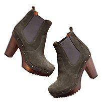 A clog AND a bootie = perfection.