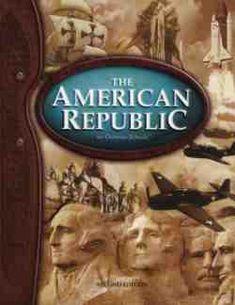 Bob Jones American Republic Text Item #: BJ08222133 Retail Price: $43.00 Our Price: $32.25      Bob Jones American Republic Student Text 2nd edition