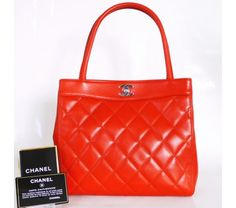 $1650 Gorgeous Red Chanel Bag