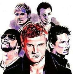Backstreet Boys animated, HOW COOO IS THIS?!?!