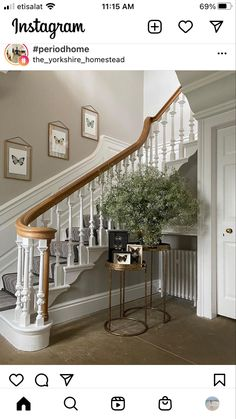 Homesteading, Stairs, Instagram, Home Decor, Stairway, Decoration Home, Room Decor, Staircases, Home Interior Design