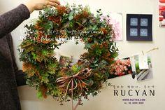 모스리스(Moss Wreath)_[플라워스쿨,루시안]전문가반플라워레슨 :: 네이버 블로그