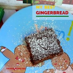 My Best Gingerbread - a quick and easy gingerbread cake recipe perfect for Christmas Retro Christmas, Christmas Time, Candy Recipes, Dessert Recipes, Desserts, Gingerbread Cake, Cake Mix Cookies, Homemade Candies, Peanut Butter Cookies