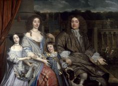 Portrait de Sir Robert Vyner et sa famille, 1673 John Michael Wright Adele, Lord Mayor Of London, Potrait Painting, New Statesman, Baronet, England, Lady Mary, National Portrait Gallery, Art Uk
