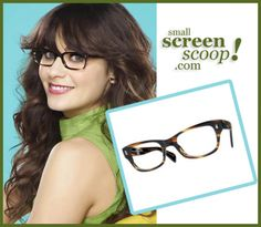 e2c00f2afa You can find Zooey s glasses from New Girl at Oliver Peoples