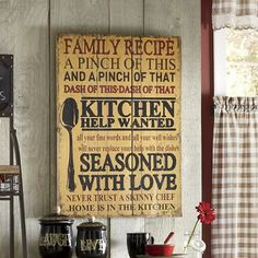 Seasoned with Love Wall Art from Through the Country Door   N7722641