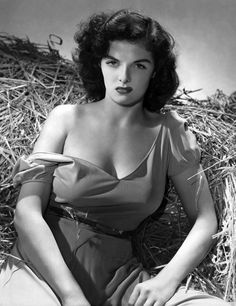 Pinup jane russell cleavage in the hay born ernestine-42847