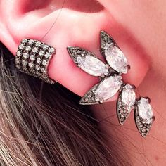 Semijóias — Brincos da moda e piercings de pressão vc encontra...