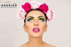 Venera - Fotografii portret Eyes, Floral, Beauty, Flowers, Beauty Illustration, Cat Eyes, Flower