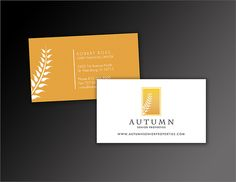 Wheat Field Custom Business Cards  Business Cards