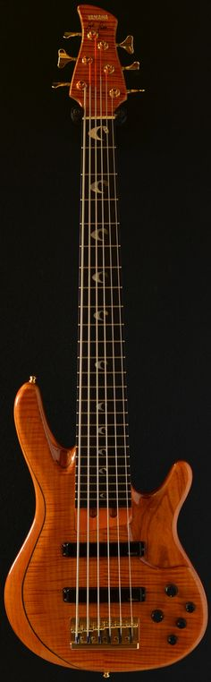 YAMAHA John Patitucci Signature six string bass (via Direct Bass) i would so love to play this