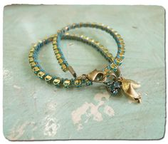 Tutorial for Double Fortune Wrap Bracelet from Ornamentea -- love their style
