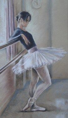 """Saatchi Online Artist Zoe James-williams; Drawing, """"Waiting"""" #art"""