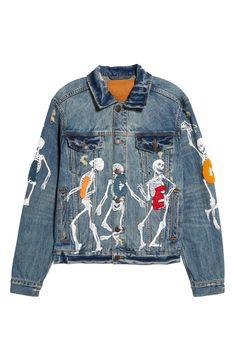 Men's Denim, Denim Jacket Men, Denim Style, Denim Coat, Vintage Fashion, Vintage Style, Jacket Style, Clothing Items, Crew Neck Sweatshirt
