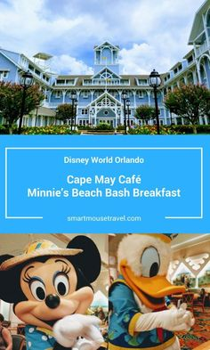 Looking for a relaxed character meal at Disney World? See why Cape May Cafe breakfast with Minnie and friends is a great way to start your morning! Disney World Guide, Disney World Food, Disney World Florida, Disney World Parks, Walt Disney World Vacations, Disney World Tips And Tricks, Disney Trips, Disney Travel, Florida Travel