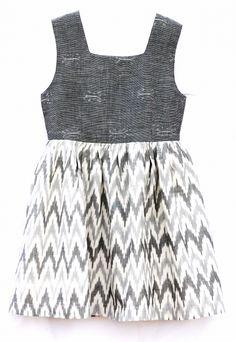 Ikat dress...possible DIY?