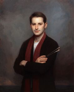 Adrain Gottlieb - Self Portrat of the artist (painted from life)